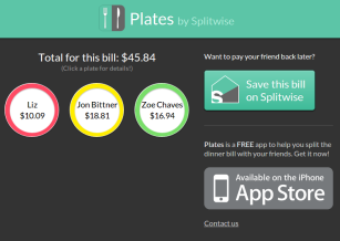 Plates Landing Page