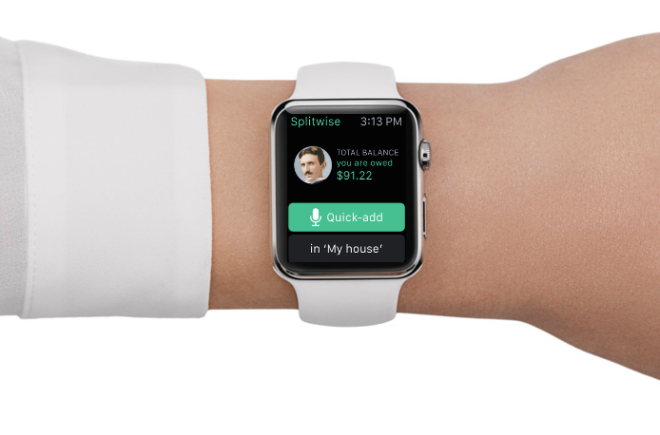 Apple Watch Splitwise